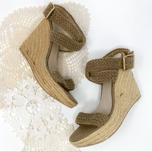 Steve Madden | Tan Fantasik Wedge Sandals